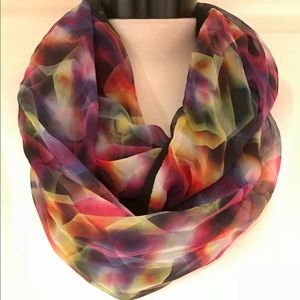 Accessories - NWT Multicolored Infinity Scarf